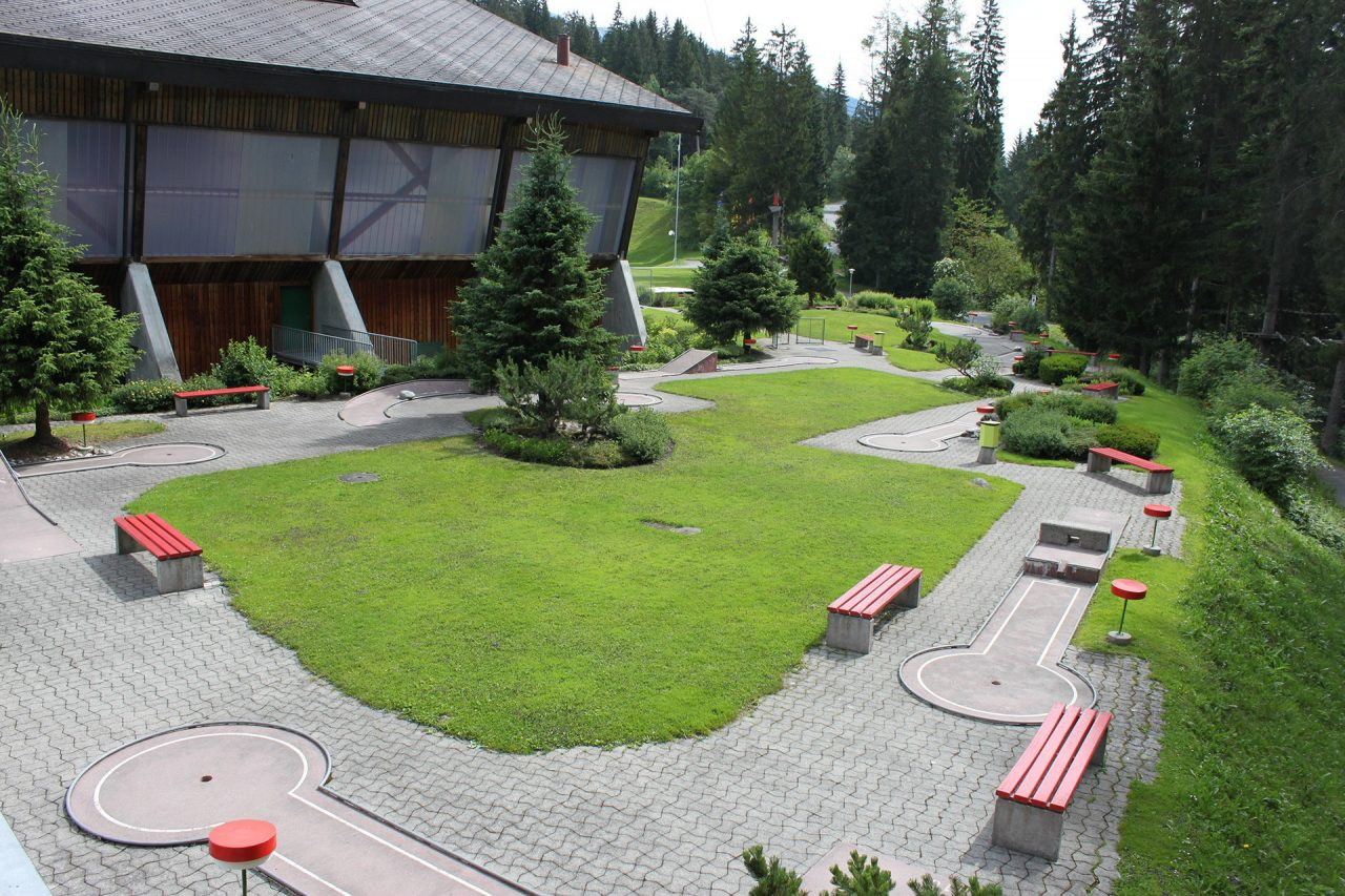 Bike Camping Flims Mini Golf Anlage
