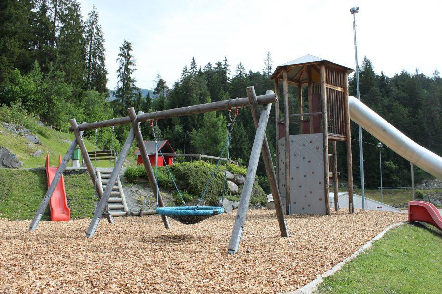 Bike Camping Flims Spielplatz