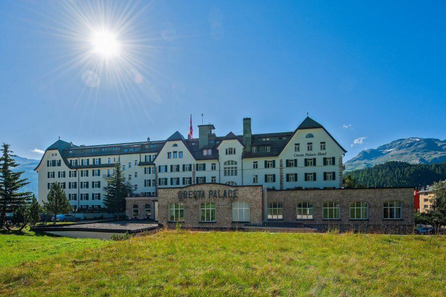 Bike Hotel Cresta Palace Aussenansicht 3