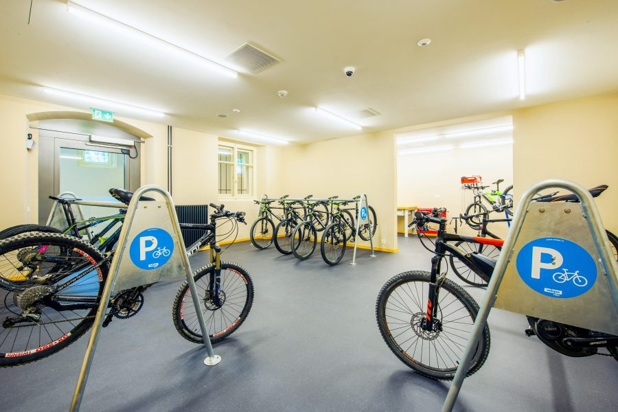 Bike Hotel Cresta Palace Bike Keller