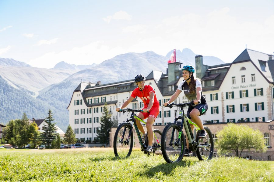 Bike Hotel Cresta Palace Tour Start