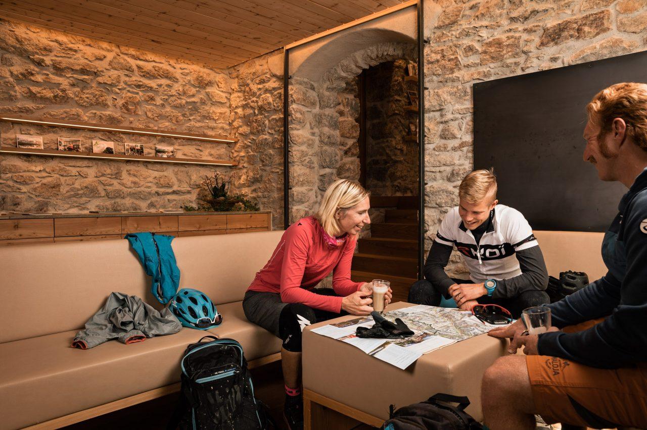 Bike Hotel Cresta Palace Tourenplanung