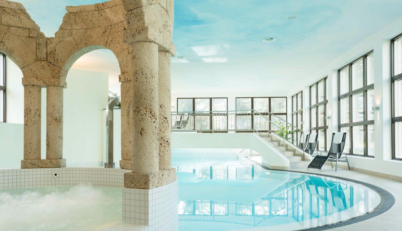 Bike Hotel Cresta Palace Wellnessbereich 1