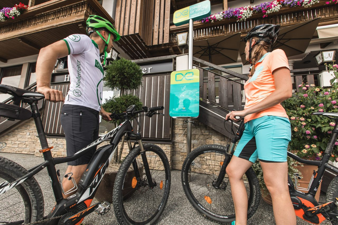 Bike Hotel Gasthof Niederreiter E Bike Ladestation