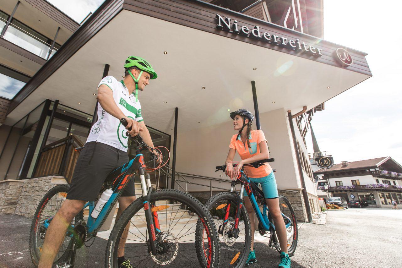 Bike Hotel Gasthof Niederreiter Eingang 2