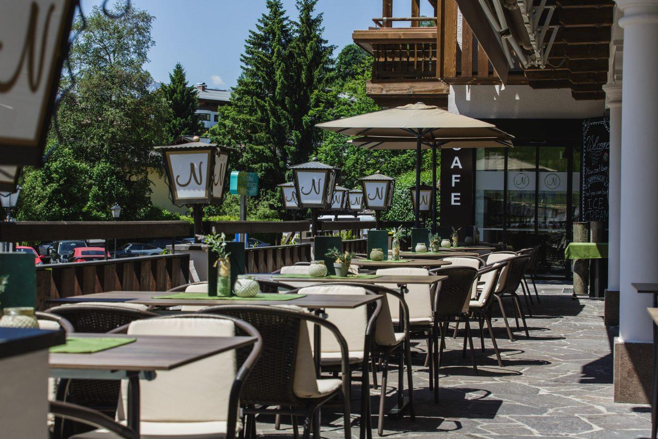 Bike Hotel Gasthof Niederreiter Terrasse
