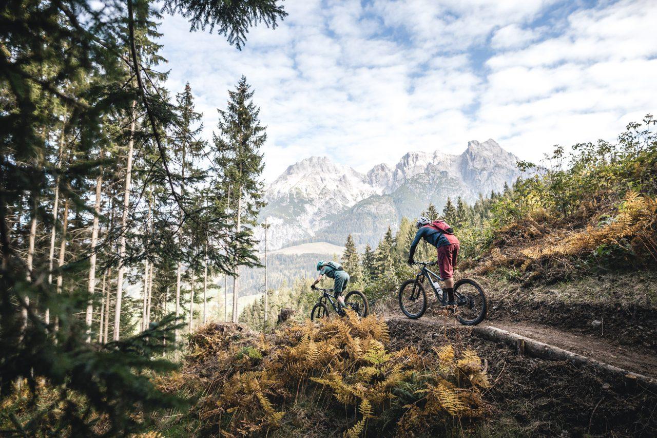 Bike Hotel Saliter Hof Trail mit Panorama