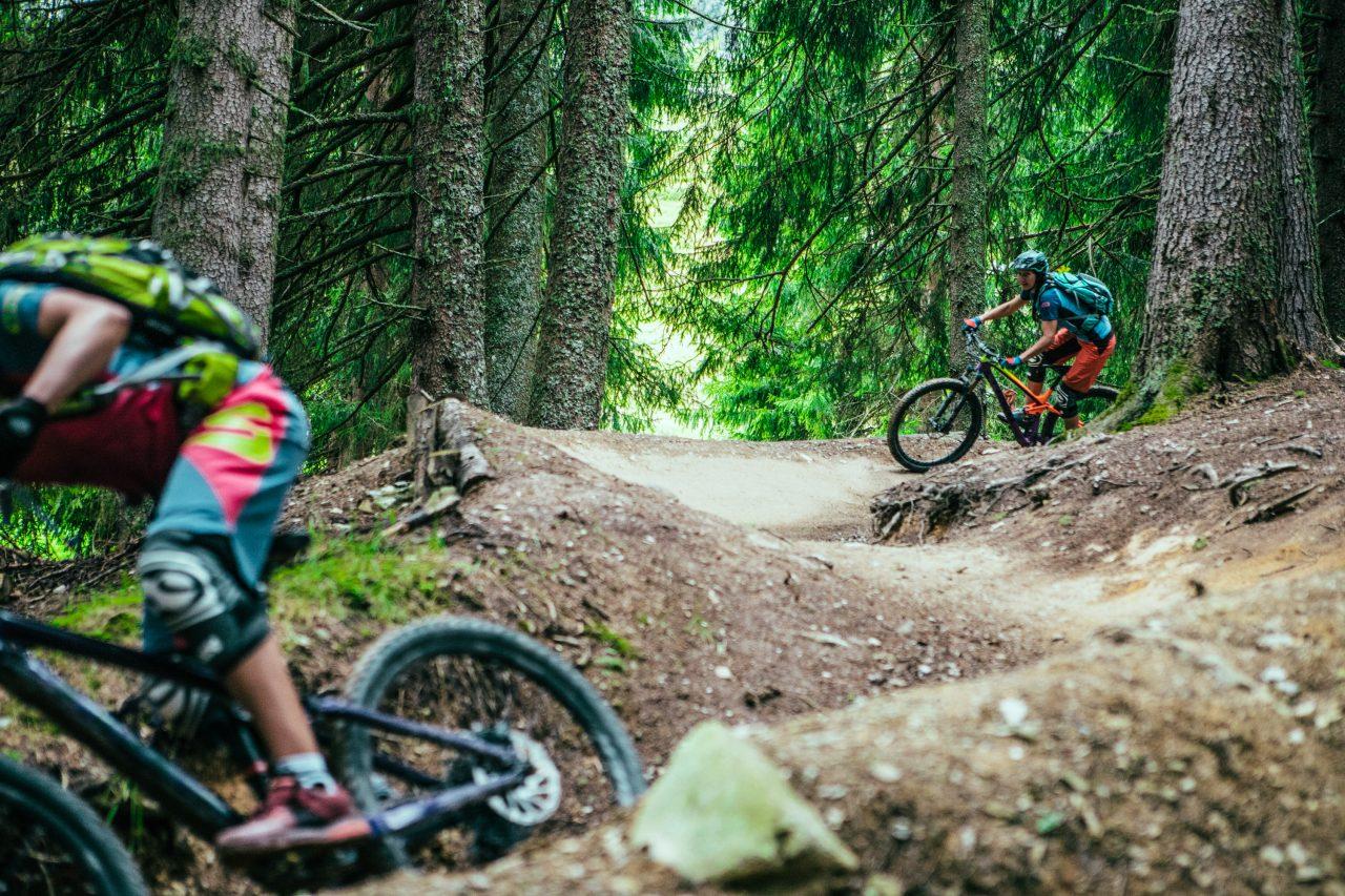 Bike Hotel Spielberghaus geshapte Strecken