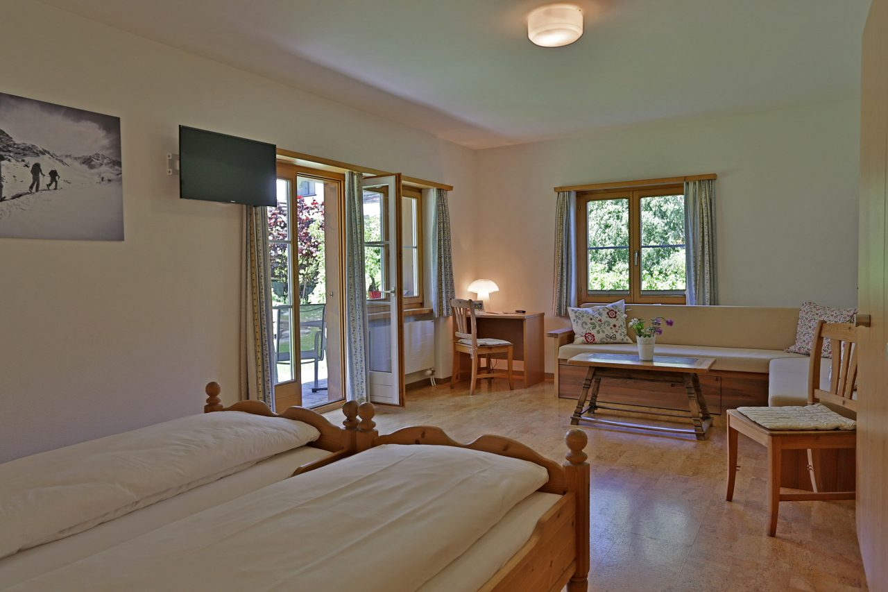 Bike Hotel Sport Lodge Klosters Apartment Gartenblick