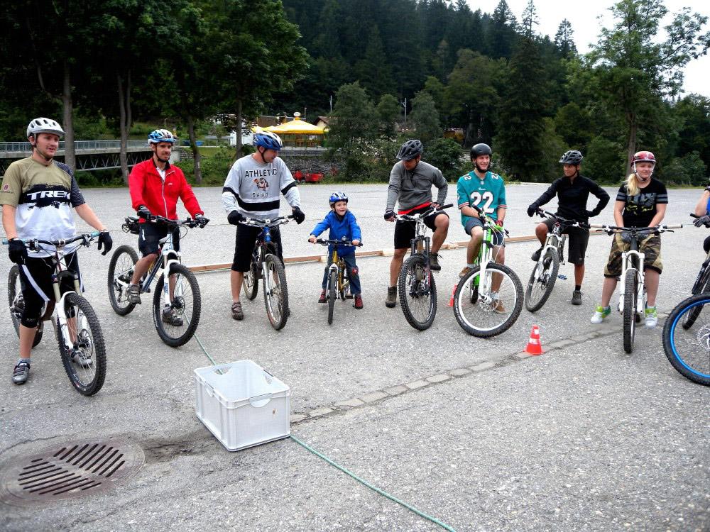 Bike Hotel Sport Lodge Klosters Fahrtechnikkurs