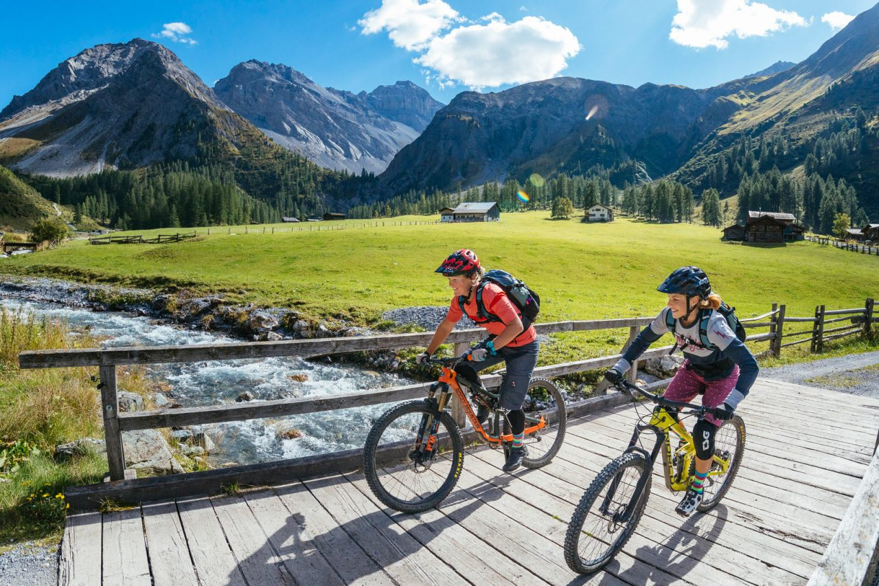 Bike Hotel Sport Lodge Klosters Tour