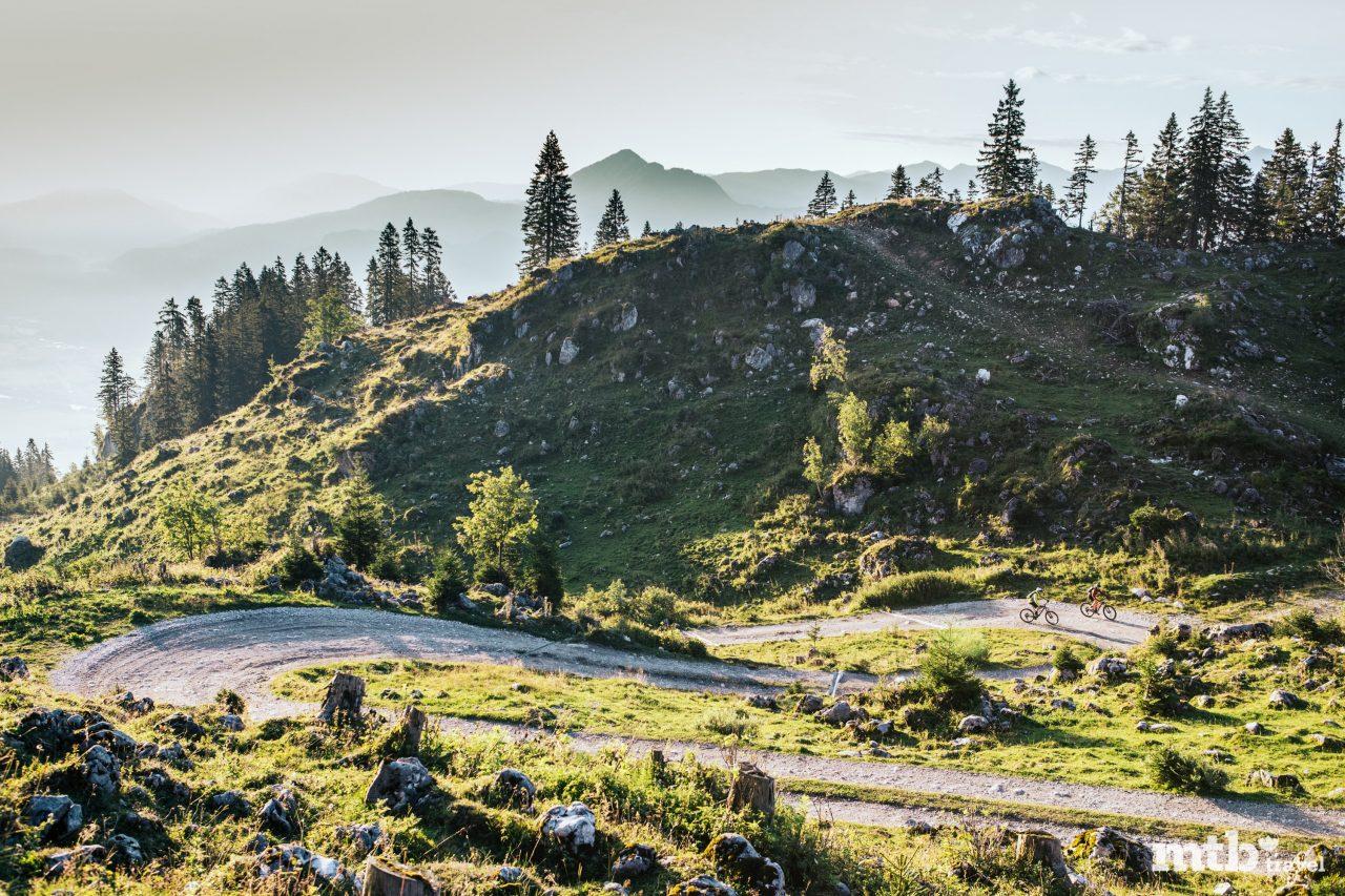 Einfache Tour Forstweg Tirol