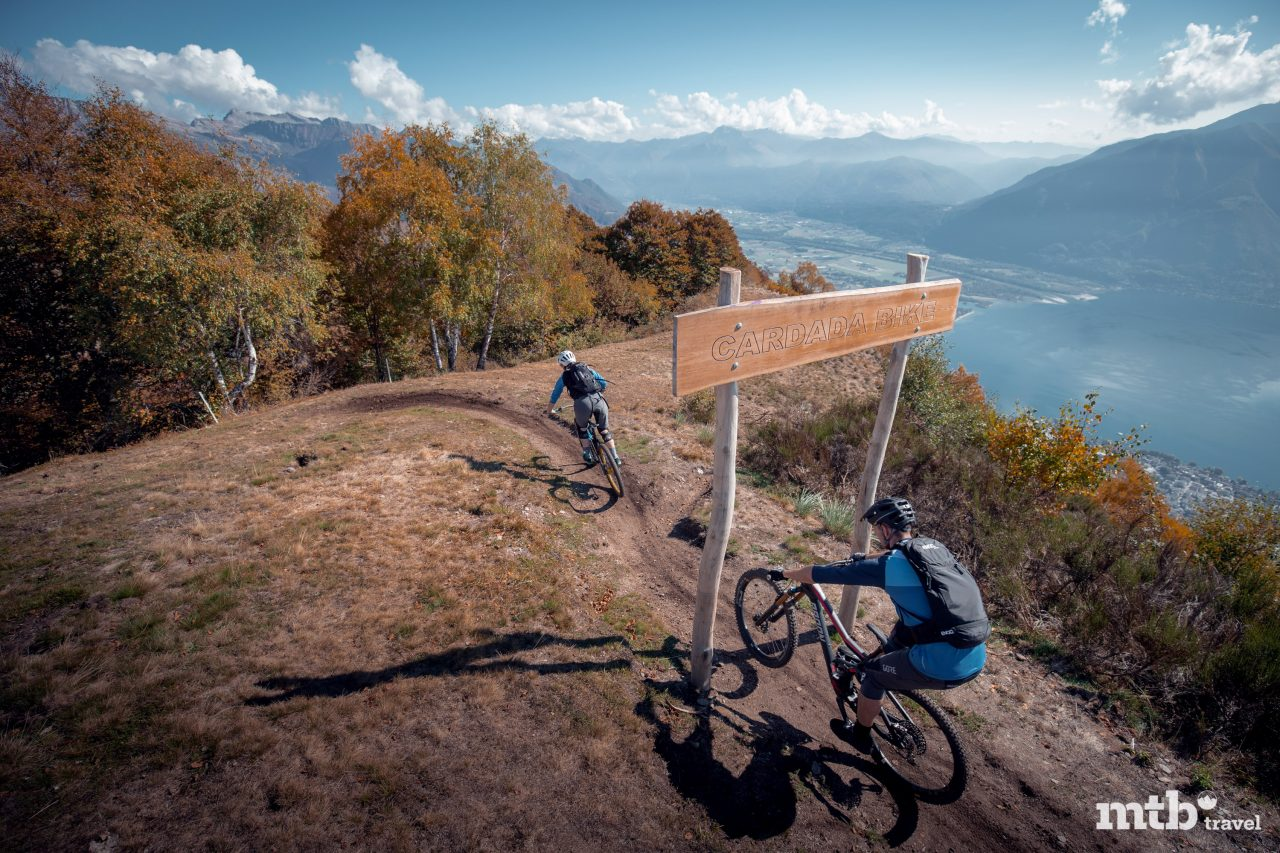 Cardada Bike Lago Maggiore Singletrack Trail