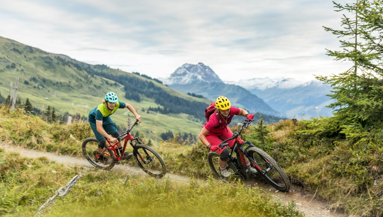 Singletrail Tirol offiziell legal Kitzbüheler Alpen Lisi Osl