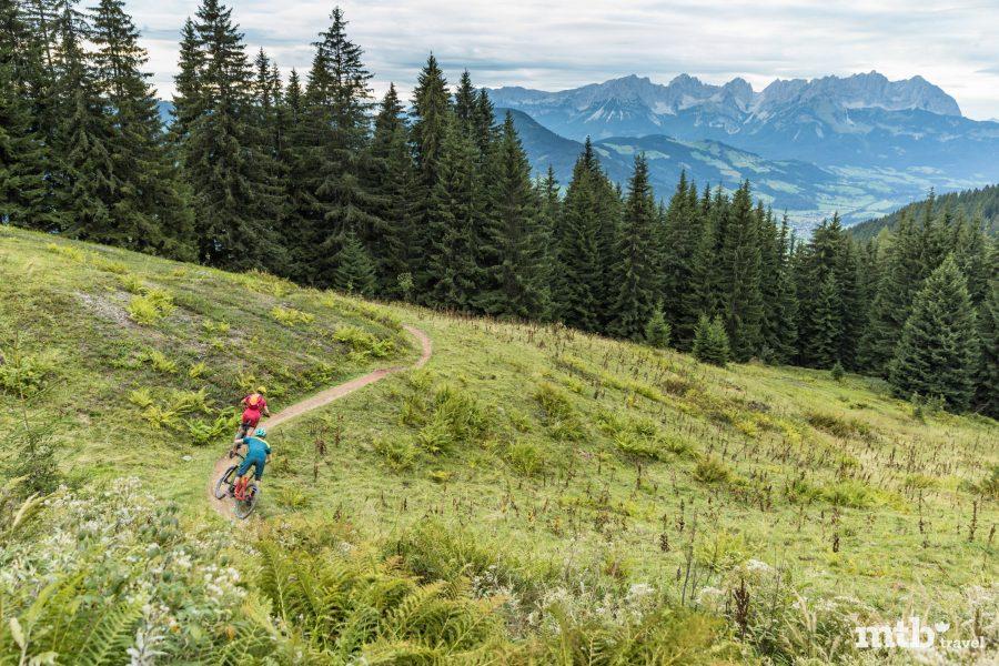 Singletrail einfach Tirol für Anfänger