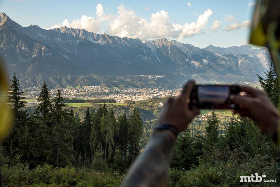 Bike Urlaub in Innsbruck Selfie Spot Innsbruck