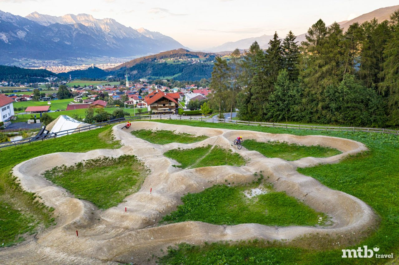 Bike Urlaub in Innsbruck Mutters Bikepark Pumptrack