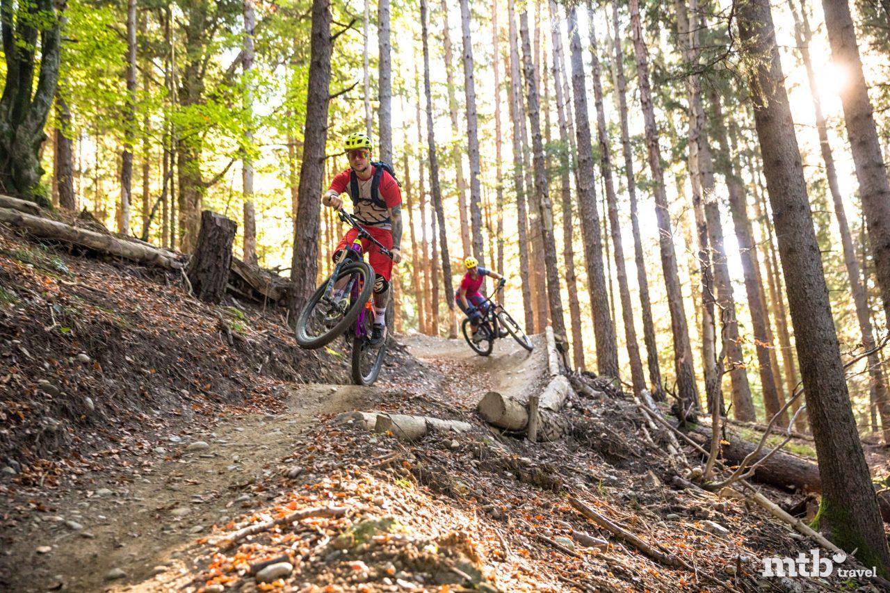 Bike Urlaub in Innsbruck Arzler Alm