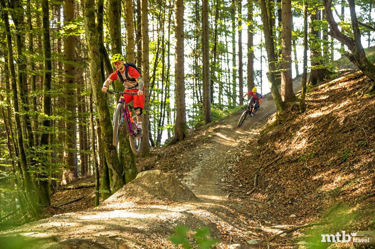 Bike Urlaub in Innsbruck Sprünge
