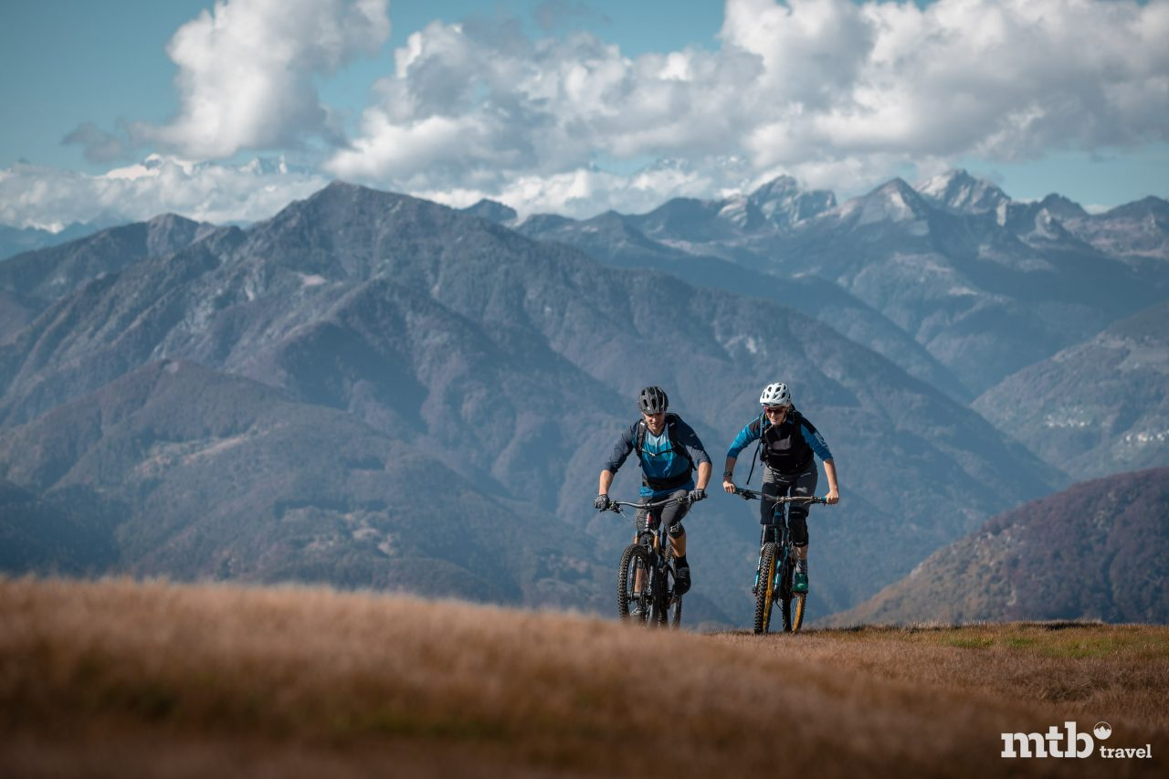 Biken in Ascona im Tessin