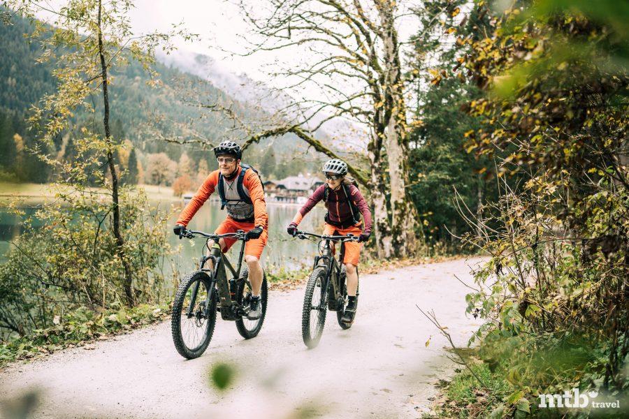 E Bike Tour zum Jägersee in Wagrain