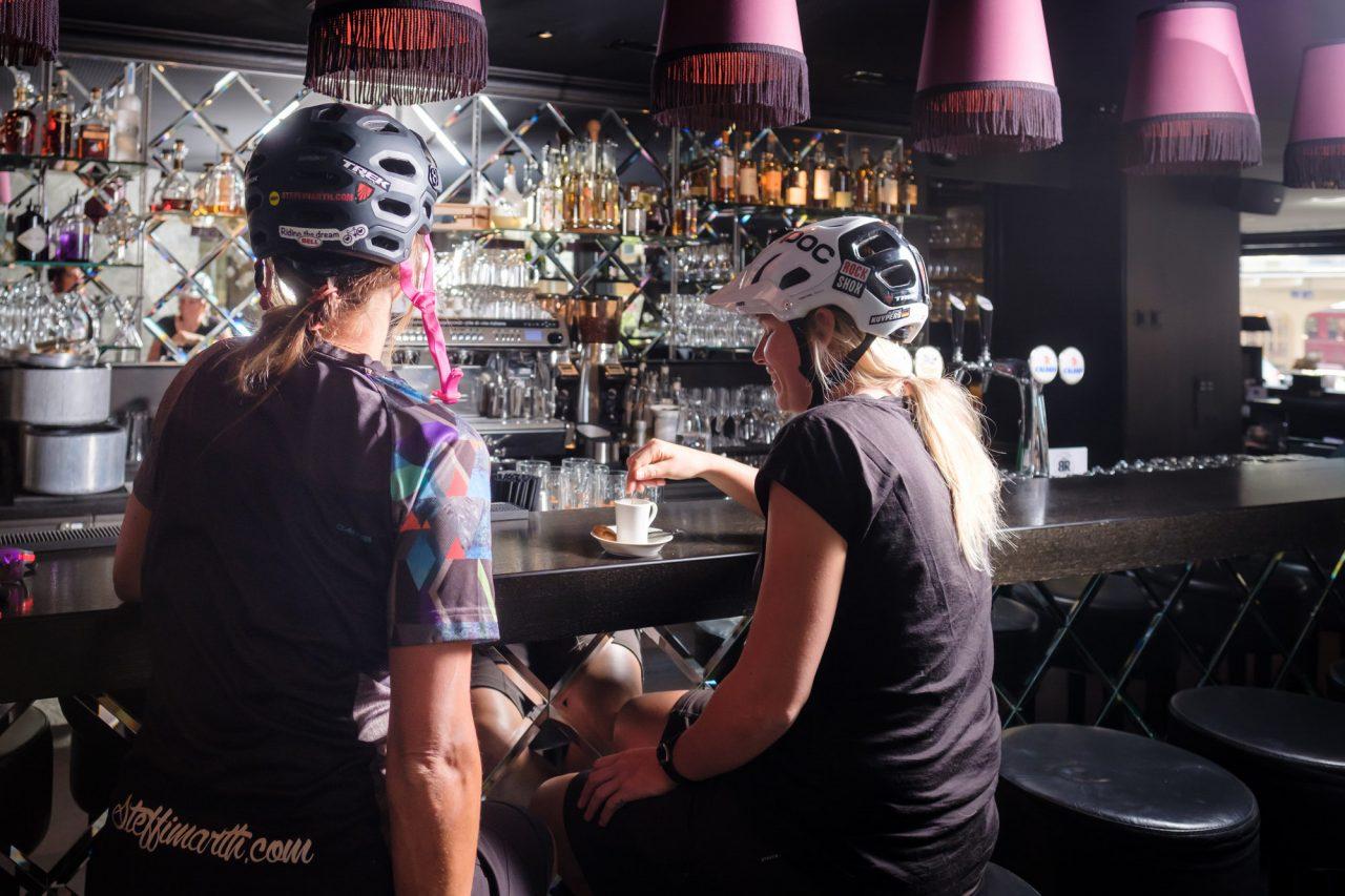 MTB Hotel Grischa in Davos After Bike Espresso
