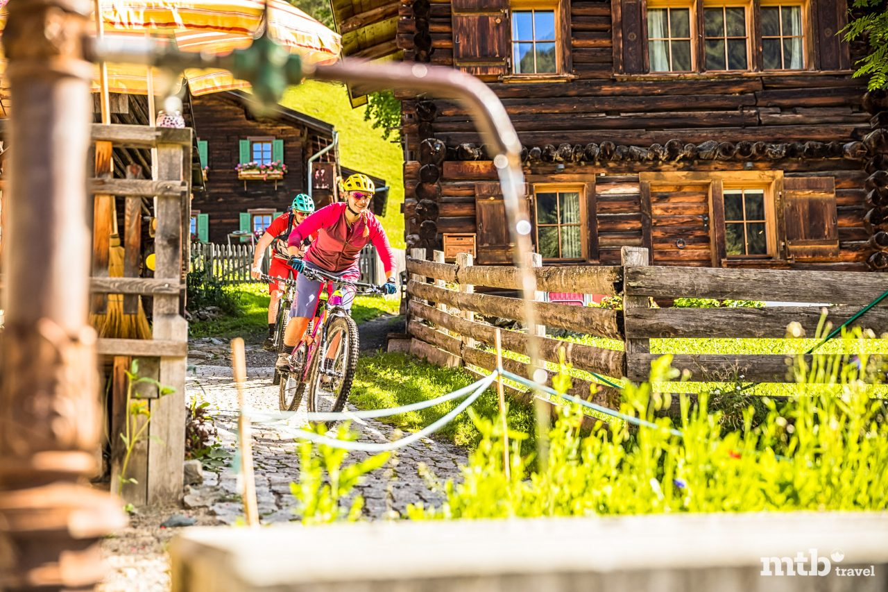 MTB Hotel Grischa in Davos Bike Tour