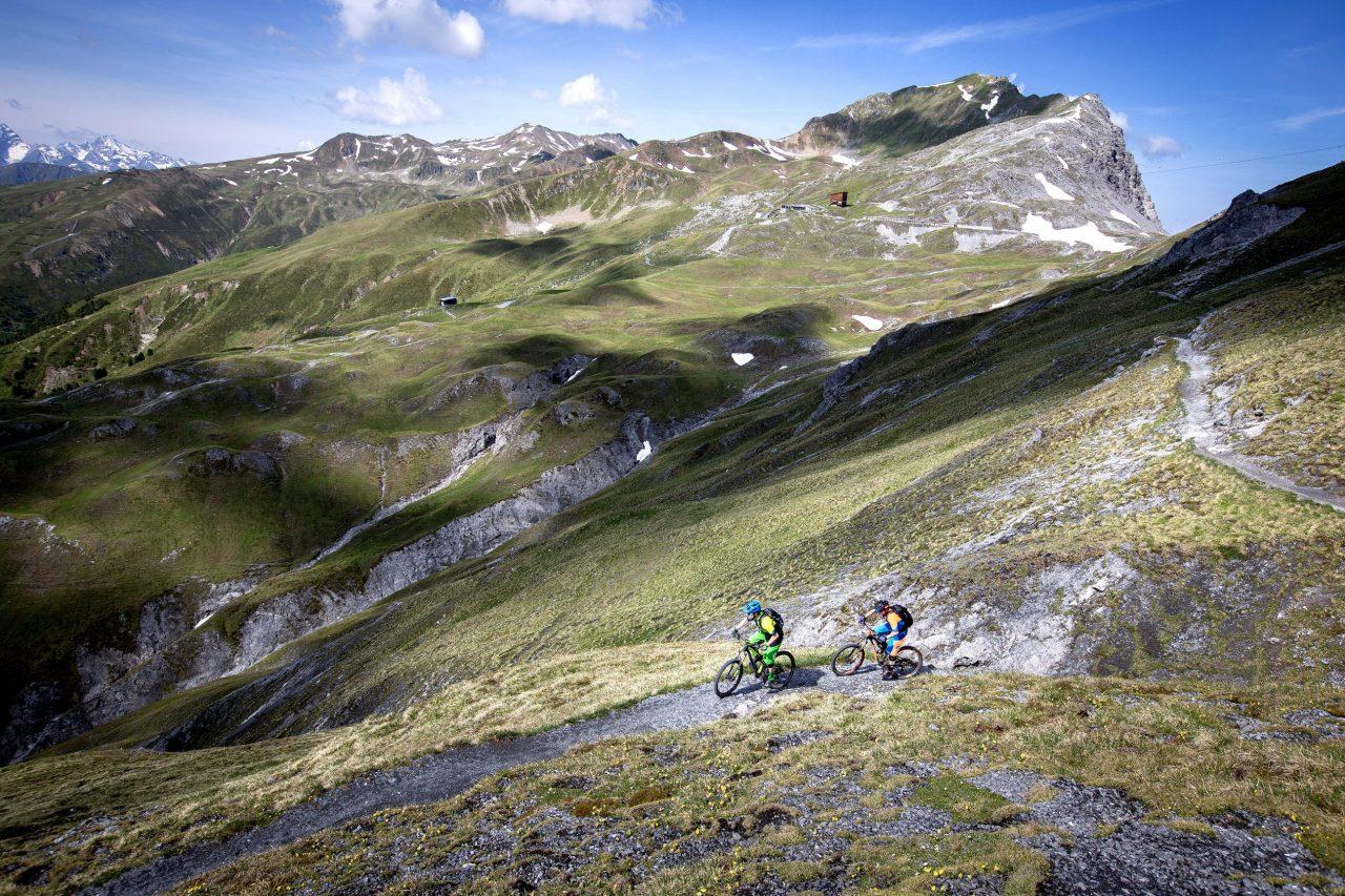 MTB Hotel Grischa in Davos Trail