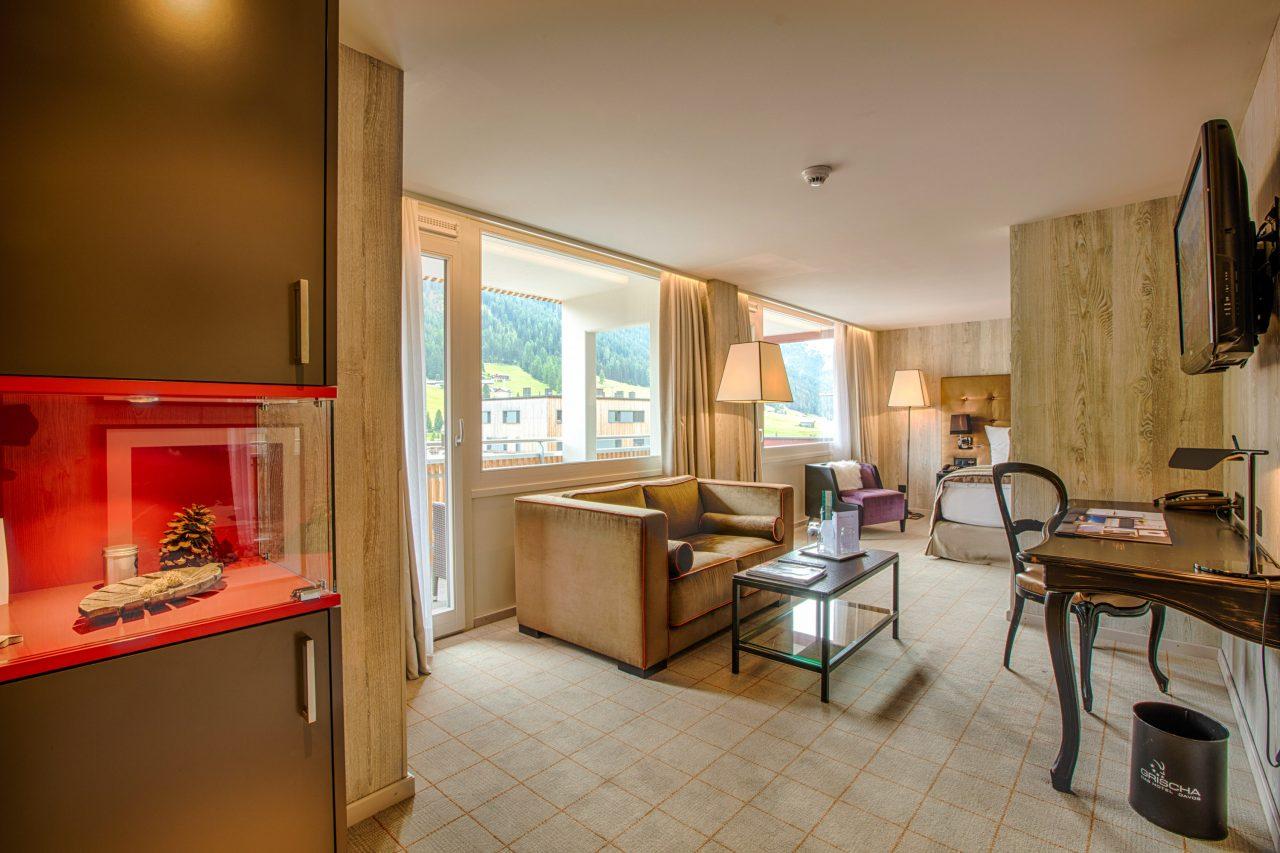 MTB Hotel Grischa in Davos Zimmer 1