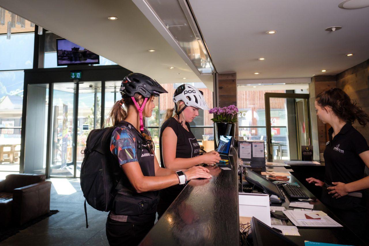 MTB Hotel Grischa in Davos einchecken