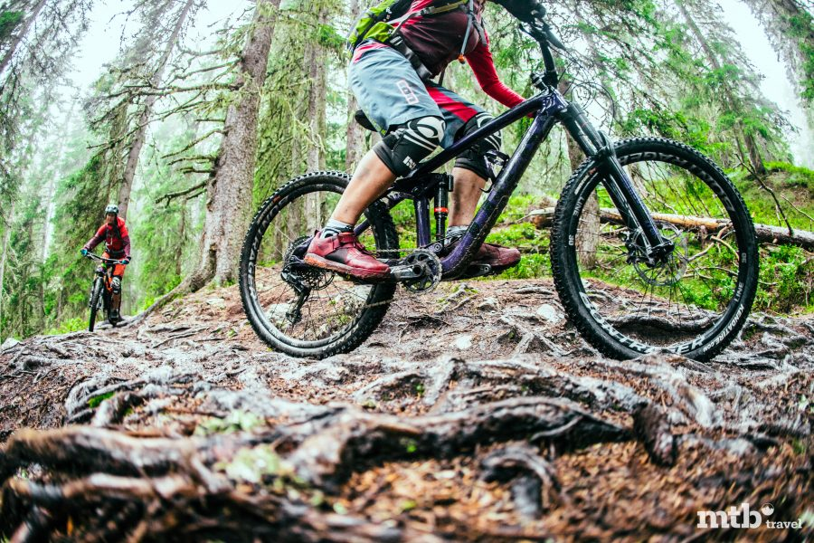 MTB Region Saalbach Hinterglemm Trail Beschaffenheit