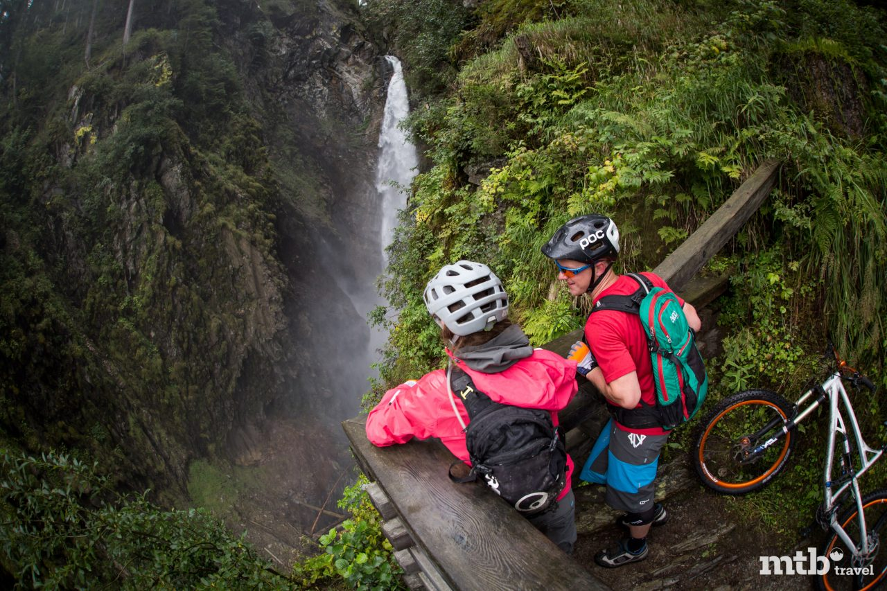 Mountainbike Wasserfall Tour