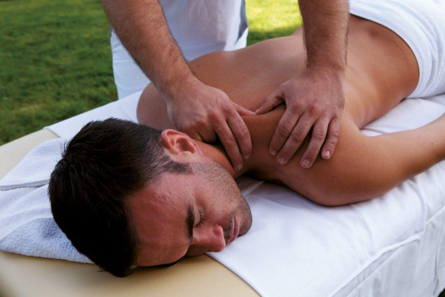 Mountainbike Hotel Seppl Massage
