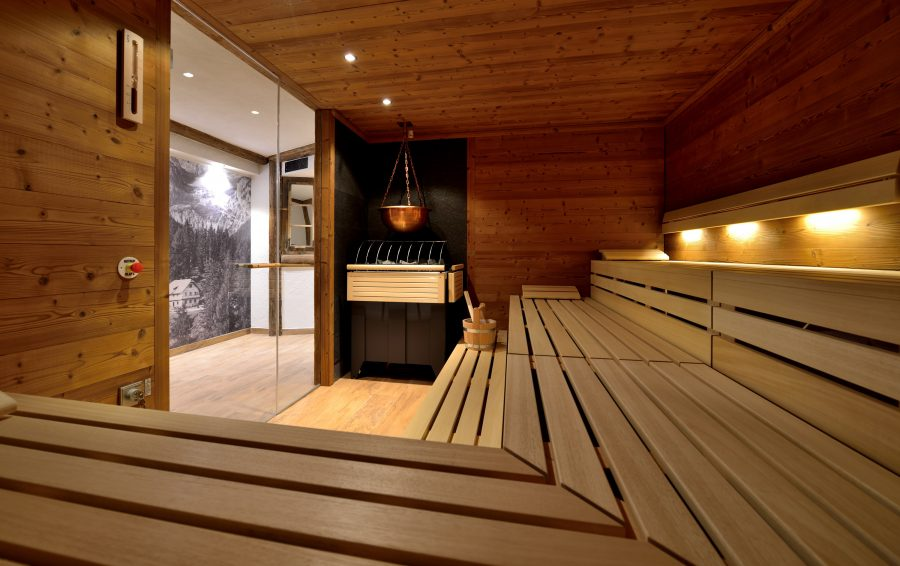Mountainbike Hotel Waldruhe Sauna 1