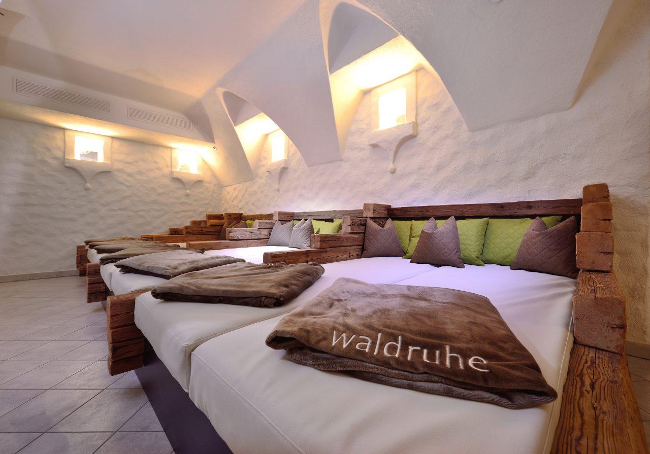 Mountainbike Hotel Waldruhe Wellnessbereich