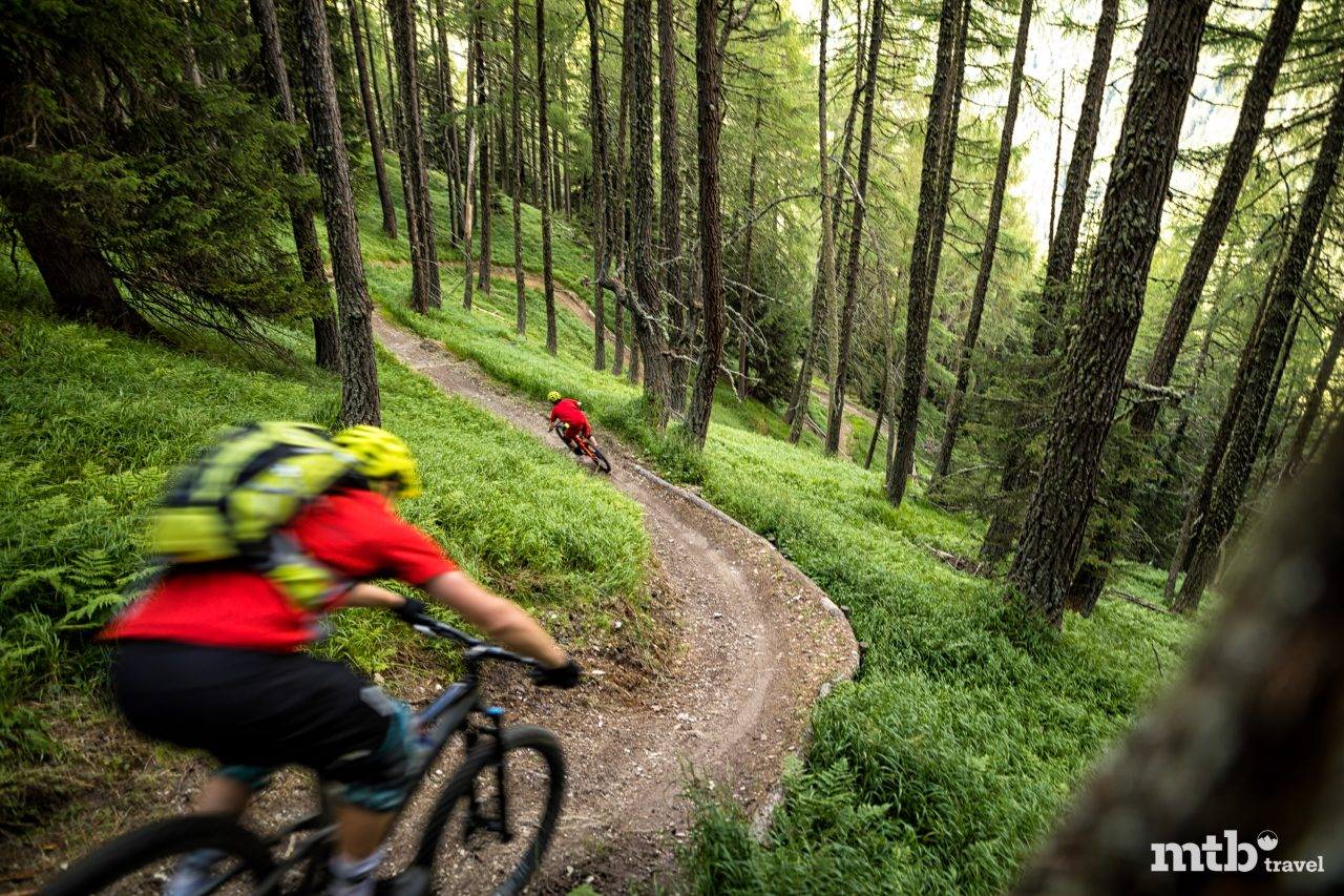 Mountainbike Region Osttirol Abfahrt