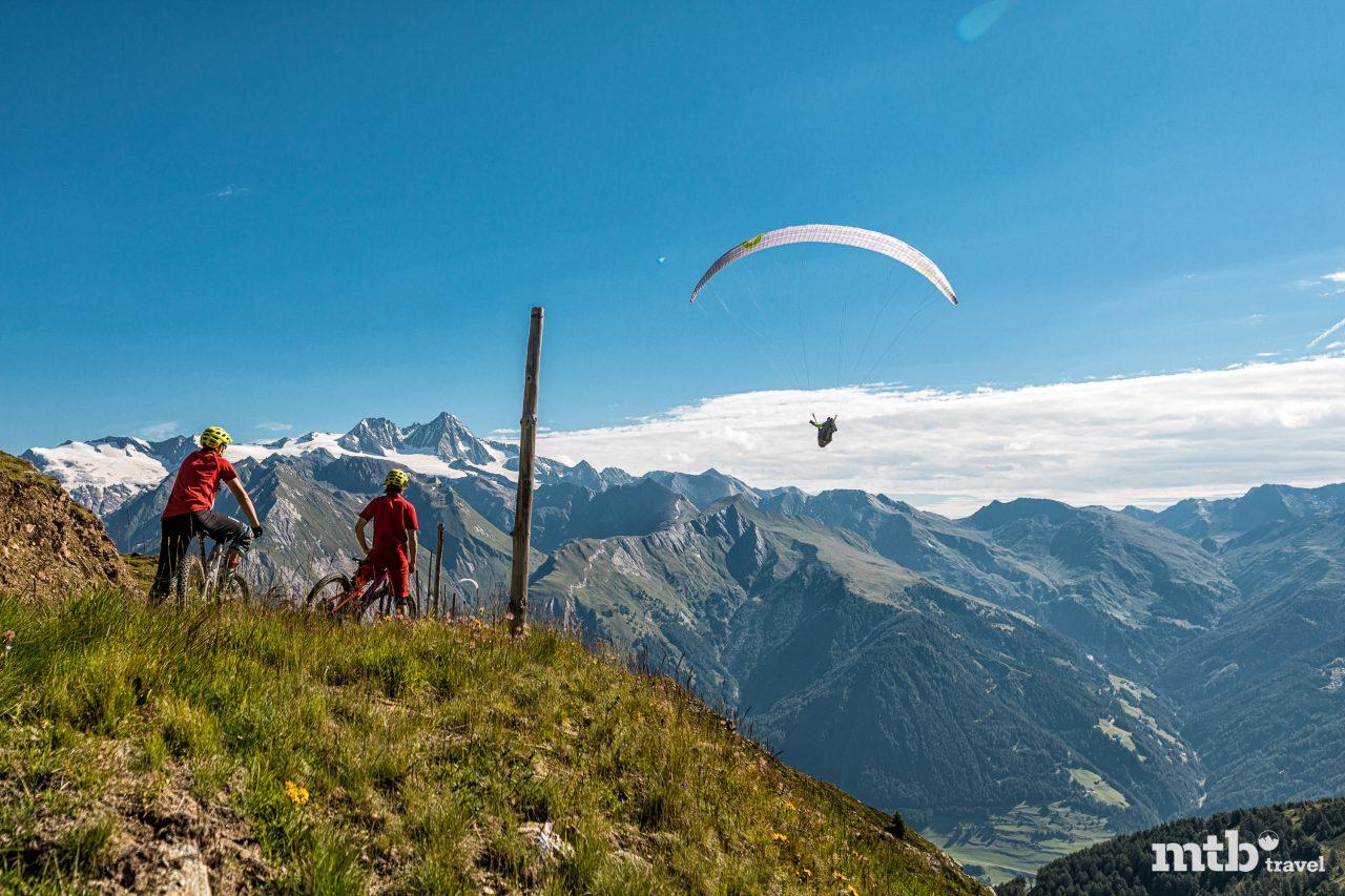 Mountainbike Region Osttirol Para Glider