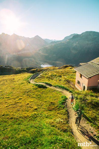 Mountainbike Region St.Moritz Corviglia Flowtrail 1