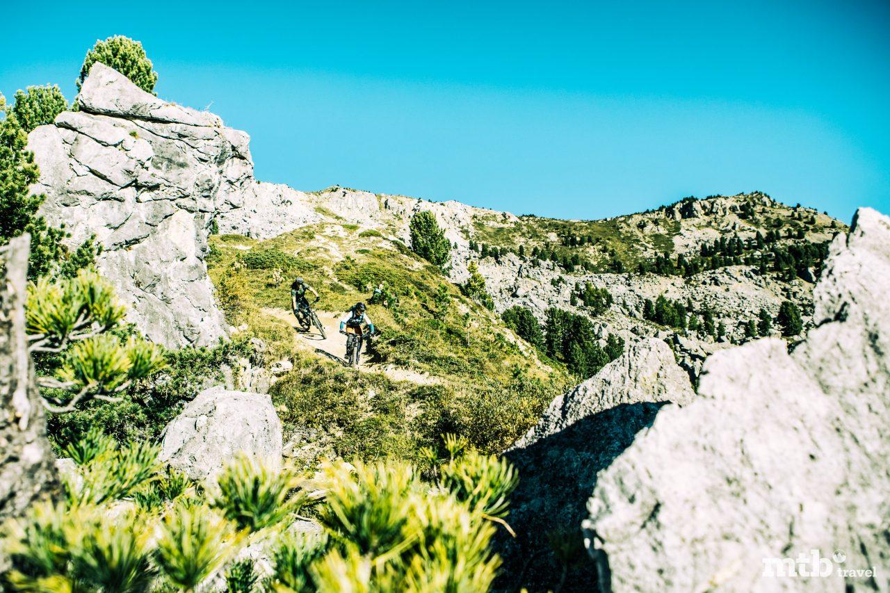 Mountainbike Region St.Moritz Corviglia Flowtrail 13