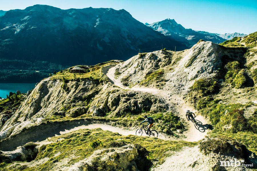 Mountainbike Region St.Moritz Corviglia Flowtrail 15