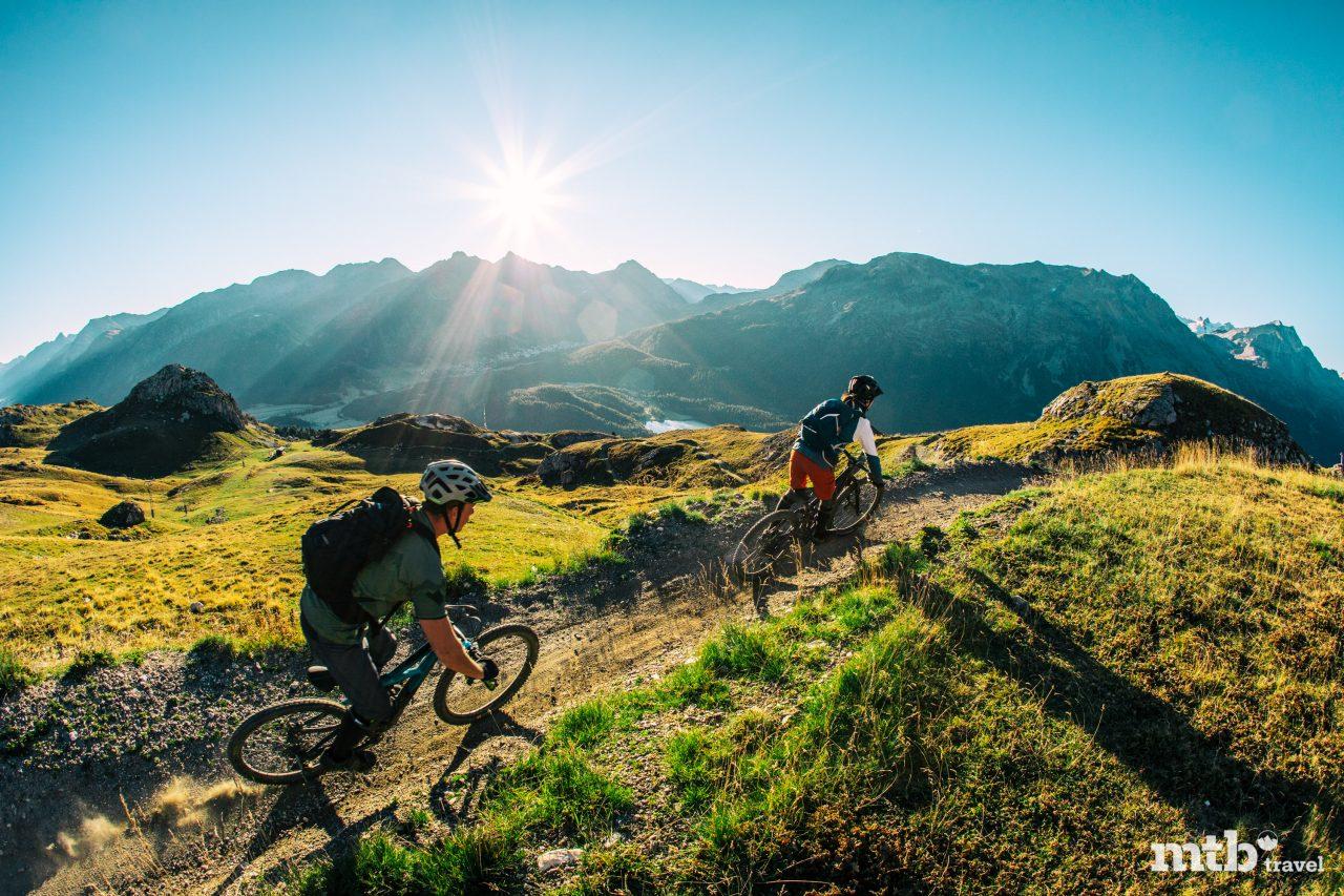Mountainbike Region St.Moritz Corviglia Flowtrail 2