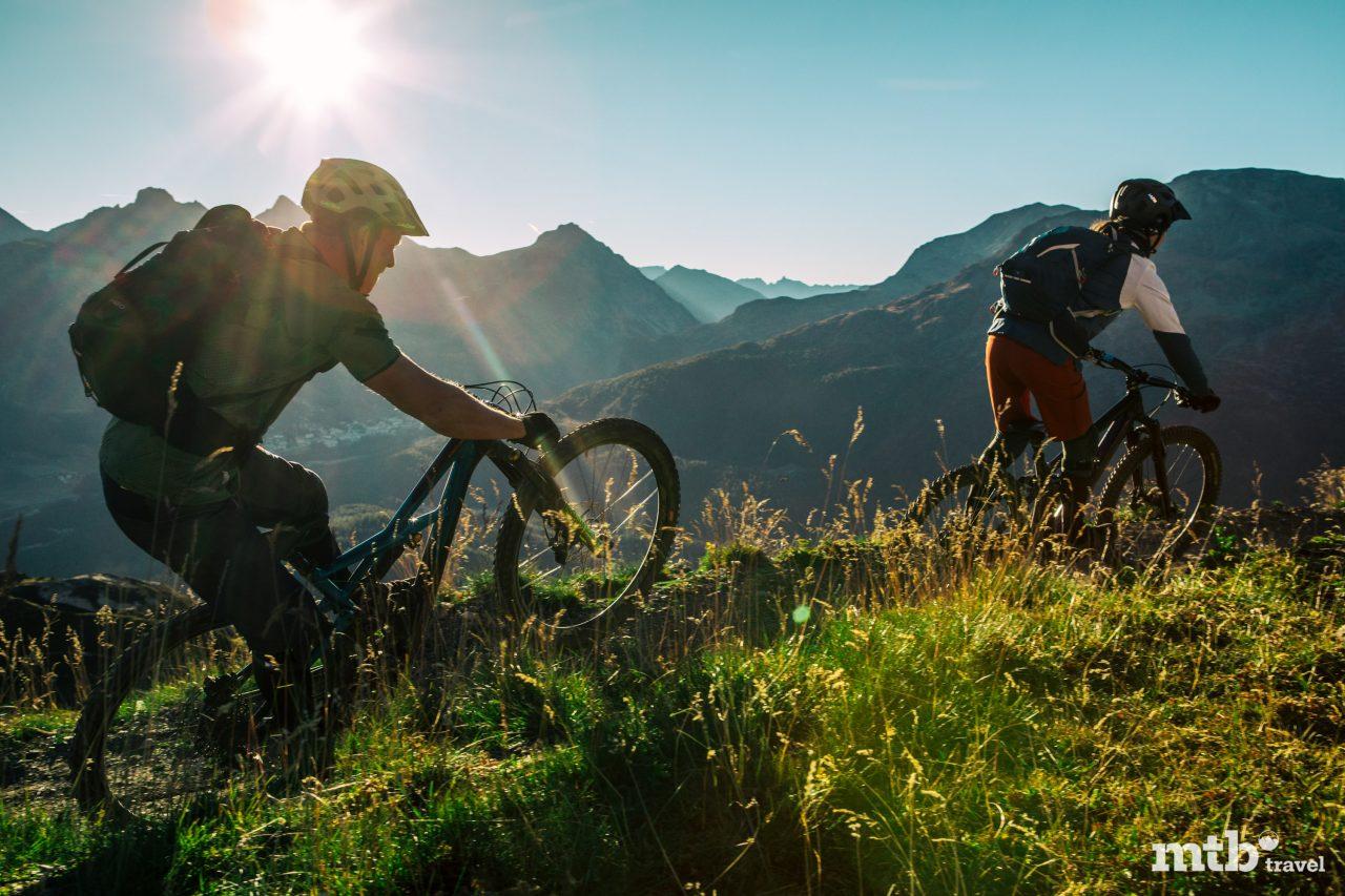 Mountainbike Region St.Moritz Corviglia Flowtrail 4