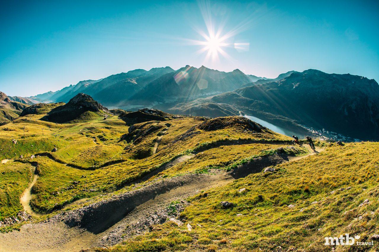 Mountainbike Region St.Moritz Corviglia Flowtrail 8