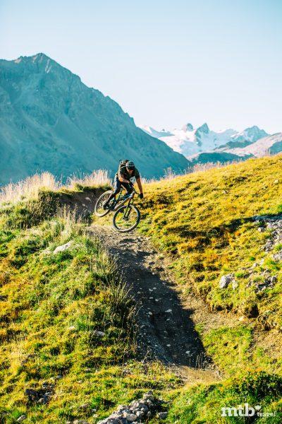 Mountainbike Region St.Moritz Corviglia Flowtrail 9