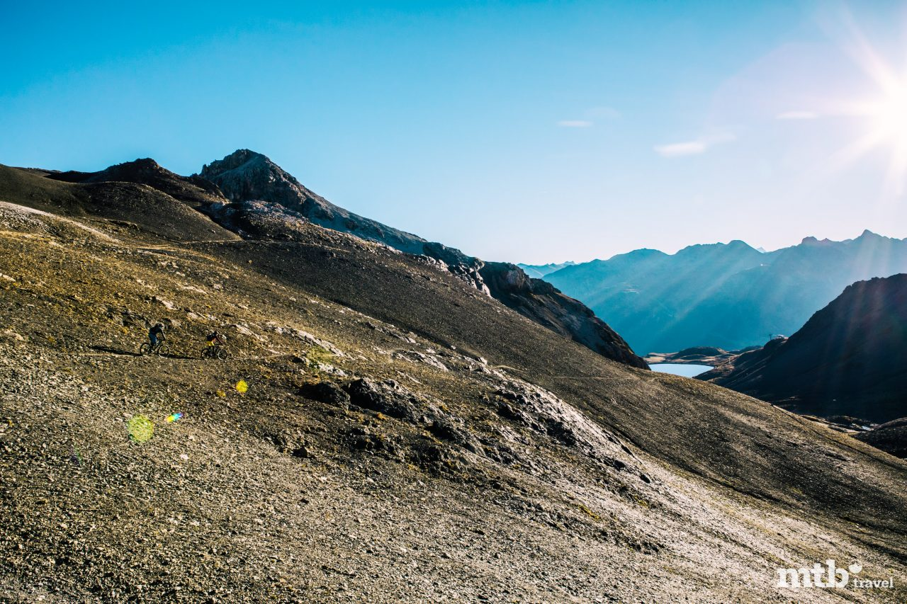 Mountainbike Region St.Moritz Piz Nair 1
