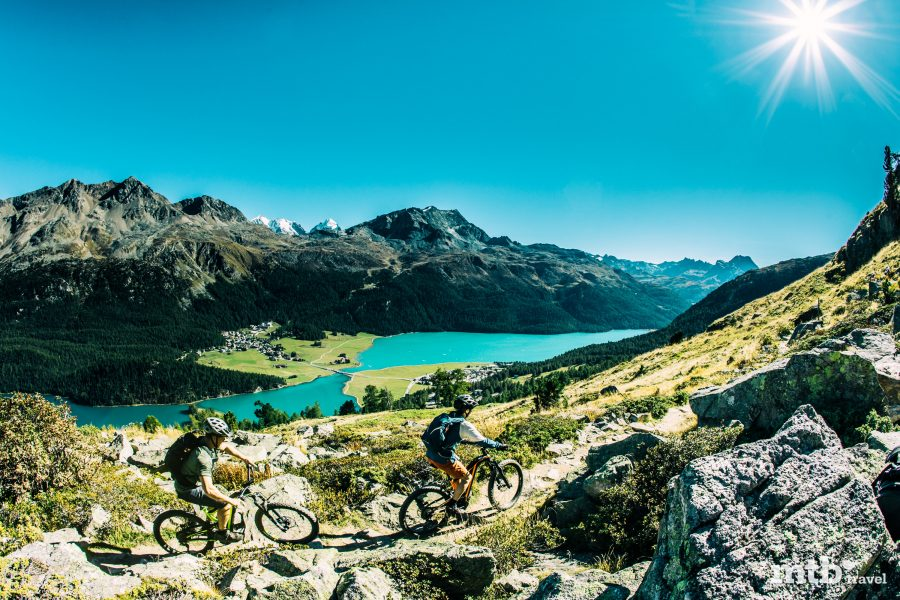 Mountainbike Region St.Moritz Via Engadinia 1