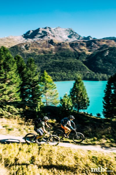 Mountainbike Region St.Moritz Via Engadinia 3
