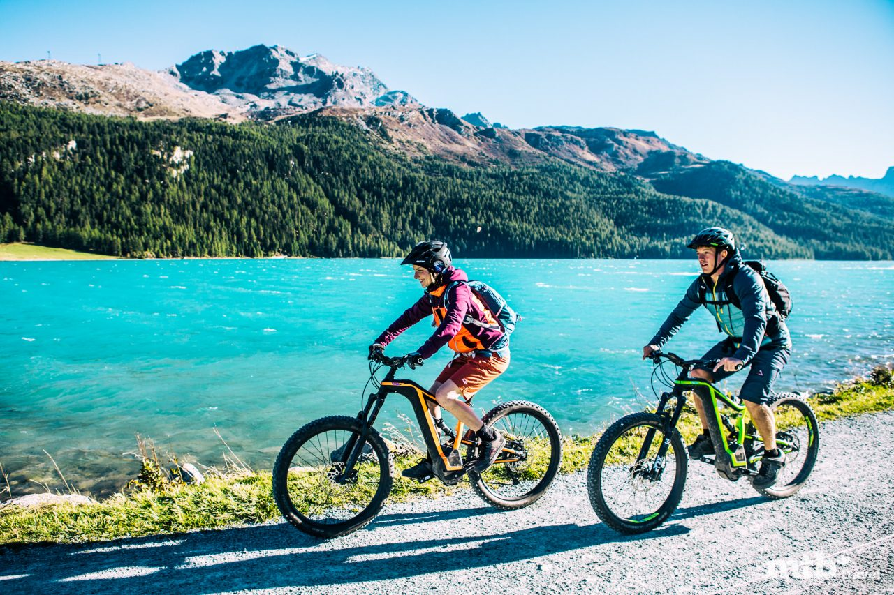 Mountainbike Region St.Moritz Via Engadinia 7