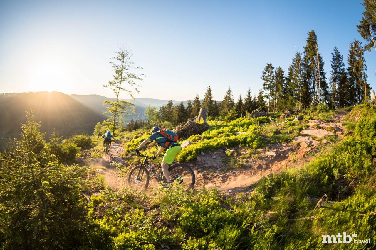 Mountainbiken Baden Württemberg legal