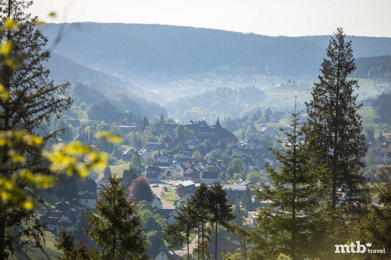 Schwarzwald Mountainbiken Baden Württemberg Panorama Tour